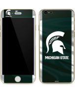 Michigan State University Away Grey Jersey iPhone 6/6s Skin