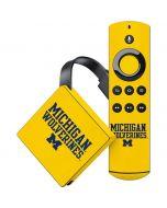 Michigan Wolverines Amazon Fire TV Skin