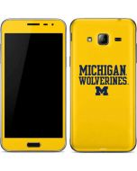 Michigan Wolverines Galaxy J3 Skin