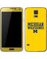 Michigan Wolverines Galaxy S5 Skin