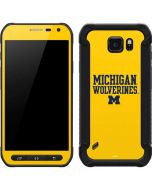 Michigan Wolverines Galaxy S6 Active Skin