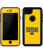 Michigan Wolverines iPhone 8 Waterproof Case