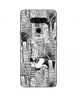 Mickey Mouse Cityscape Sketch LG V40 ThinQ Skin