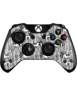 Mickey Mouse Cityscape Sketch Xbox One Controller Skin