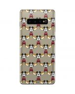 Mickey Mouse Formation Galaxy S10 Plus Skin