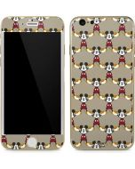 Mickey Mouse Formation iPhone 6/6s Skin