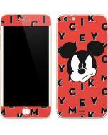 Mickey Mouse Grumpy iPhone 6/6s Plus Skin