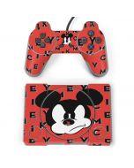 Mickey Mouse Grumpy PlayStation Classic Bundle Skin