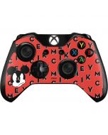 Mickey Mouse Grumpy Xbox One Controller Skin