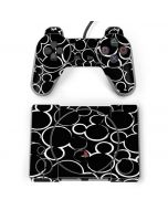 Mickey Mouse Silhouette PlayStation Classic Bundle Skin