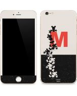 Mickey Mouse Silhouette Split iPhone 6/6s Plus Skin
