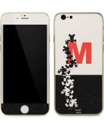 Mickey Mouse Silhouette Split iPhone 6/6s Skin