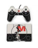 Mickey Mouse Silhouette Split PlayStation Classic Bundle Skin