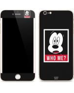 Mickey Mouse Who Me iPhone 6/6s Plus Skin