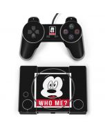 Mickey Mouse Who Me PlayStation Classic Bundle Skin