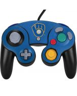 Milwaukee Brewers - Cooperstown Distressed Nintendo GameCube Controller Skin