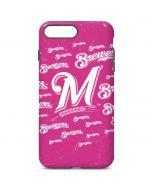 Milwaukee Brewers - Pink Cap Logo Blast iPhone 7 Plus Pro Case