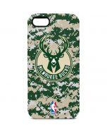 Milwaukee Bucks Camo Digi iPhone 5/5s/SE Pro Case