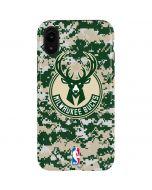 Milwaukee Bucks Camo Digi iPhone XR Pro Case