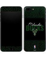 Milwaukee Bucks Elephant Print iPhone 8 Plus Skin
