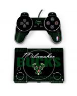 Milwaukee Bucks Elephant Print PlayStation Classic Bundle Skin