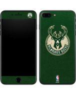 Milwaukee Bucks Green Distressed iPhone 8 Plus Skin