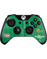 Milwaukee Bucks Hardwood Classics Xbox One Controller Skin