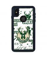Milwaukee Bucks Historic Blast New iPhone X Waterproof Case