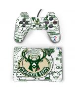 Milwaukee Bucks Historic Blast New PlayStation Classic Bundle Skin