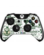 Milwaukee Bucks Historic Blast New Xbox One Controller Skin