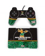 Milwaukee Bucks Retro Palms PlayStation Classic Bundle Skin