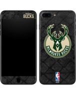 Milwaukee Bucks Rusted Dark iPhone 8 Plus Skin