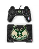 Milwaukee Bucks Rusted Dark PlayStation Classic Bundle Skin