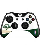 Milwaukee Bucks Split Xbox One Controller Skin