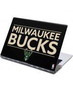 Milwaukee Bucks Standard - Black Yoga 910 2-in-1 14in Touch-Screen Skin
