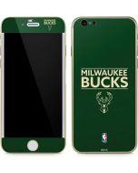 Milwaukee Bucks Standard - Green iPhone 6/6s Skin