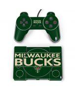 Milwaukee Bucks Standard - Green PlayStation Classic Bundle Skin