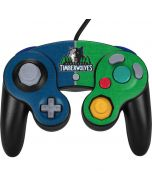 Minnesota Timberwolves Canvas Nintendo GameCube Controller Skin