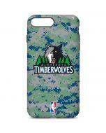 Minnesota Timberwolves Digi Camo iPhone 7 Plus Pro Case