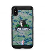 Minnesota Timberwolves Digi Camo iPhone XS Max Cargo Case