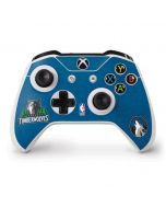 Minnesota Timberwolves Distressed Xbox One S Controller Skin