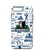 Minnesota Timberwolves Historic Blast iPhone 7 Plus Pro Case