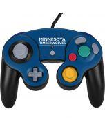 Minnesota Timberwolves Standard - Blue Nintendo GameCube Controller Skin