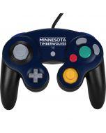 Minnesota Timberwolves Standard - Navy Blue Nintendo GameCube Controller Skin