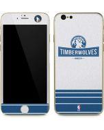 Minnesota Timberwolves Static iPhone 6/6s Skin