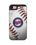 Minnesota Twins Game Ball iPhone 7 Wallet Case