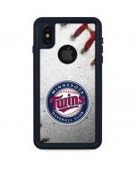Minnesota Twins Game Ball iPhone XS Waterproof Case