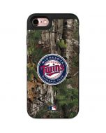 Minnesota Twins Realtree Xtra Green Camo iPhone 7 Wallet Case