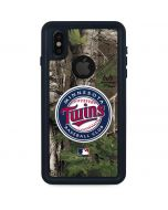 Minnesota Twins Realtree Xtra Green Camo iPhone XS Waterproof Case