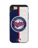 Minnesota Twins Split iPhone 7 Wallet Case